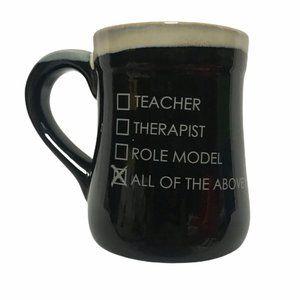 Burton & Burton 3-D Teacher Therapist Mug